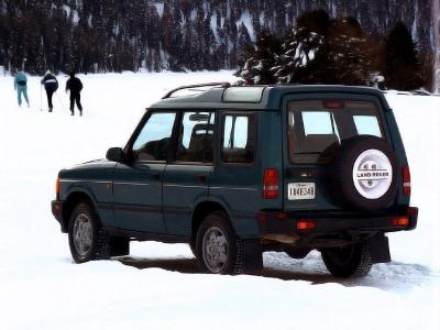 Каркасные шторки на Land Rover Range Rover (с 1994 по 2002)