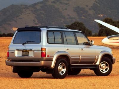 Каркасные шторки на Lexus LX 450 FZJ80 (с 1996 по 1997)