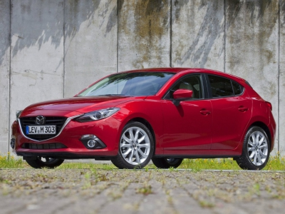 Каркасные шторки на Mazda 3 хэтчбек BM (с 2013 по 2019)