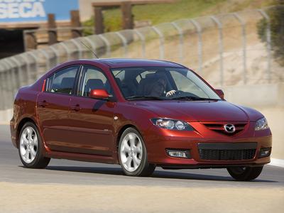 Каркасные шторки на Mazda 3 седан BK (с 2003 по 2009)