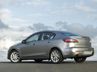 Каркасные шторки на Mazda 3 седан BL (с 2009 по 2013)