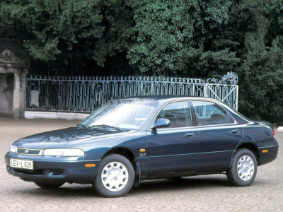 Каркасные шторки на Mazda 626 GE (с 1992 по 1997)