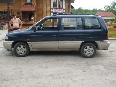 Каркасные шторки на Mazda MPV 1 (с 1990 по 1999)