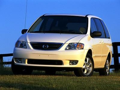 Каркасные шторки на Mazda MPV 2 (с 1999 по 2006)