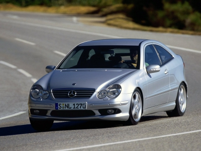 Каркасные шторки на Mercedes-Benz C-klasse 2 C203 (3-дв., с 2001 по 2007)