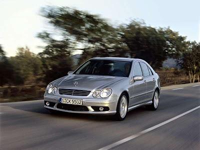 Каркасные шторки на Mercedes-Benz C-klasse 2 W203 (с 2000 по 2007)