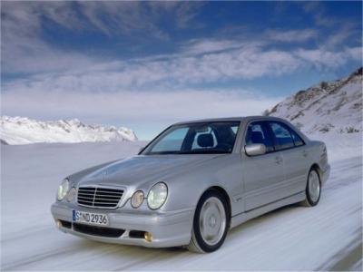 Каркасные шторки на Mercedes-Benz E-klasse W210 (с 1995 по 2002)