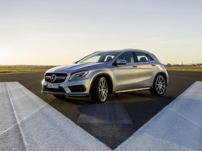 Каркасные шторки на Mercedes-Benz GLA X156 (с 2013 по н.в.)