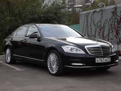 Каркасные шторки на Mercedes-Benz S-klasse W221 Long бронь (с 2005 по н.в.)