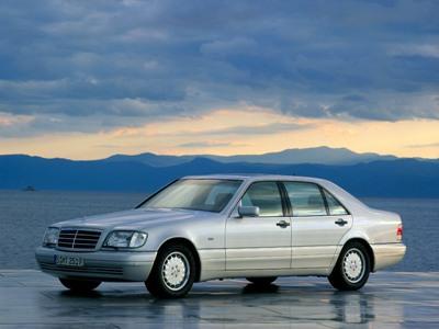 Каркасные шторки на Mercedes-Benz S-klasse W140 (с 1991 по 1998)