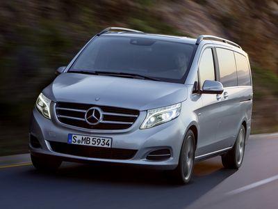 Каркасные шторки на Mercedes-Benz V-klasse V220 (с 2014 по н.в.)