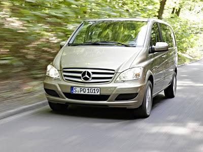 Каркасные шторки на Mercedes-Benz Viano (с 2003 по н.в.)