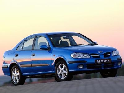 Каркасные шторки на Nissan Almera 2 N16 (с 2000 по 2006)