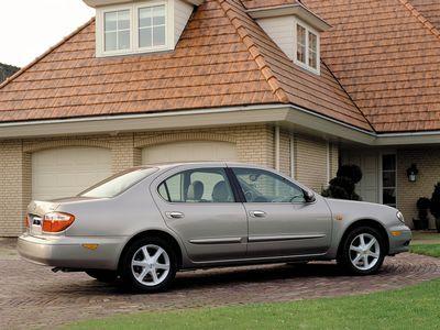 Каркасные шторки на Nissan Maxima 5 A33 (с 2000 по 2006)