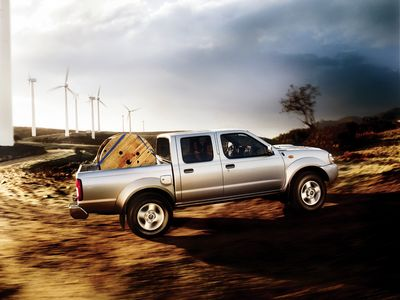 Каркасные шторки на Nissan NP 300 D22 (Пикап, 4-дв., с 2008 по н.в.)