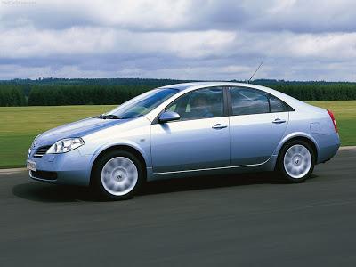 Каркасные шторки на Nissan Primera 3 P12 (с 2001 по 2008)