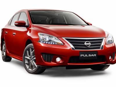 Каркасные шторки на Nissan Pulsar NB17 (с 2013 по н.в.)