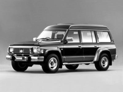 Каркасные шторки на Nissan Safari Y60 (с 1987 по 1997)