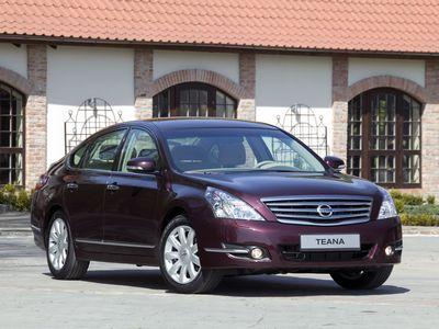 Каркасные шторки на Nissan Teana 2 J32 (с 2008 по 2014)