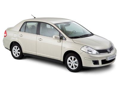 Каркасные шторки на Nissan Tiida SC11 (с 2007 по 2010)