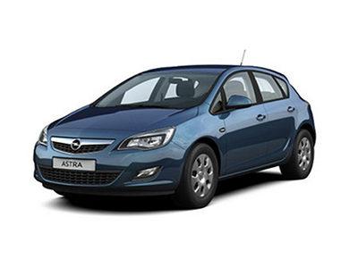 Каркасные шторки на Opel Astra J (5-дв., с 2009 по 2015)