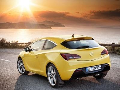 Каркасные шторки на Opel Astra J GTC (3-дв., с 2010 по 2015)