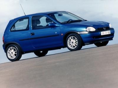 Каркасные шторки на Opel Corsa 3 B (3-дв., с 1993 по 2000)