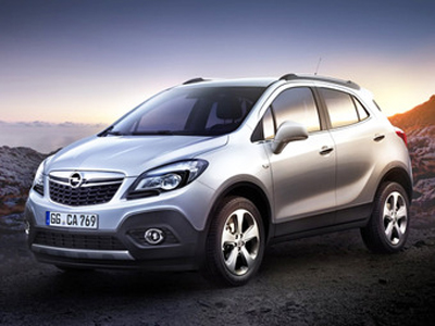 Каркасные шторки на Opel Mokka (с 2012 по н.в.)