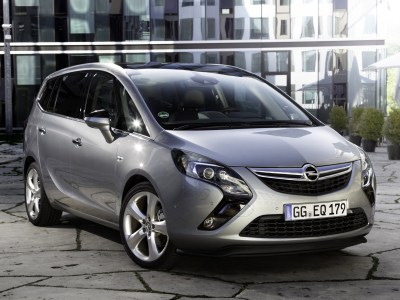 Каркасные шторки на Opel Zafira C Tourer (с 2011 по н.в.)