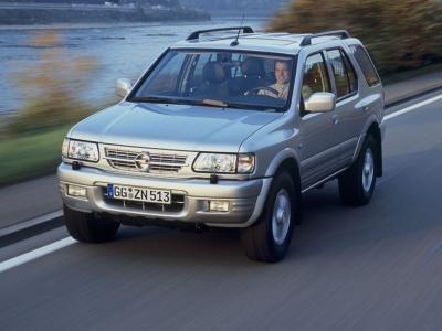 Каркасные шторки на Opel Frontera B (с 1998 по 2003)