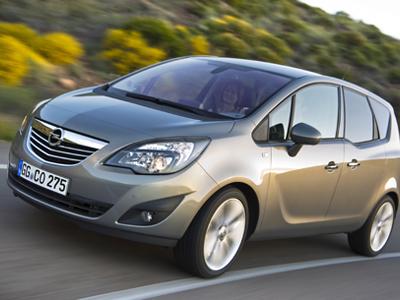 Каркасные шторки на Opel Meriva 2 B (с 2010 по н.в.)