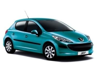 Каркасные шторки на Peugeot 207 (5-дв., с 2006 по 2013)