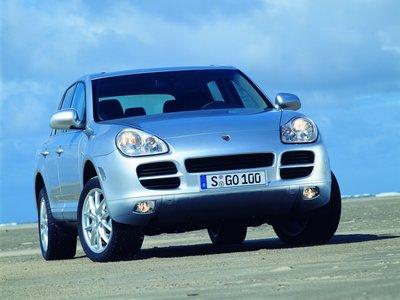 Каркасные шторки на Porsche Cayenne 1 955 (с 2002 по 2007)