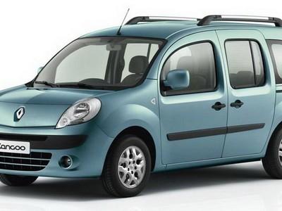 Каркасные шторки на Renault Kangoo 2 открывающиеся наружу окна задних дверей (с 2008 по 2013)