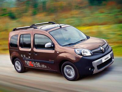 Каркасные шторки на Renault Kangoo 2 рестайлинг / открывающиеся вниз окна задних дверей (с 2013 по н.в.)