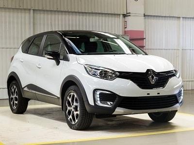 Каркасные шторки на Renault Kaptur  (с 2016 по н.в.)