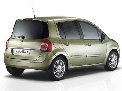 Каркасные шторки на Renault Modus (с 2008 по 2012)
