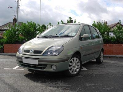 Каркасные шторки на Renault Scenic 2 (5-дв., с 2003 по 2009)