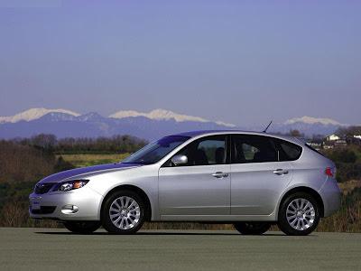 Каркасные шторки на Subaru Impreza 3 (5-дв., с 2007 по 2011)