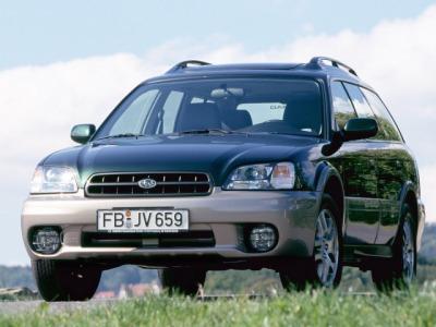 Каркасные шторки на Subaru Outback 2 (с 1999 по 2003)