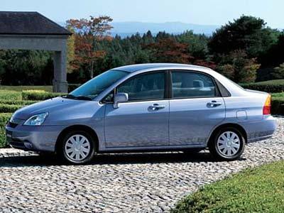Каркасные шторки на Suzuki Liana 2 (с 2004 по 2007)