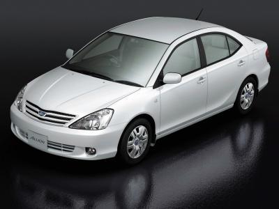 Каркасные шторки на Toyota Allion 1 T240 правый руль (с 2001 по 2007)