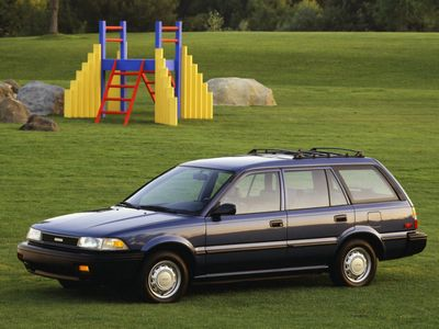 Каркасные шторки на Toyota Corolla 7 (с 1991 по 1998)