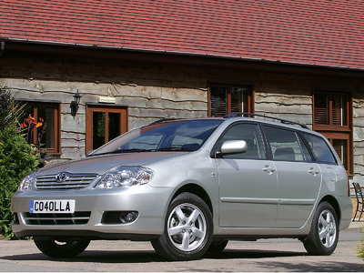 Каркасные шторки на Toyota Corolla 9 (с 2001 по 2007)