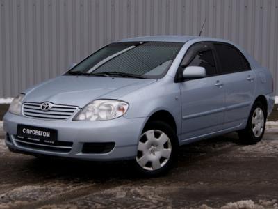 Каркасные шторки на Toyota Corolla 9 E120 правый руль (с 2000 по 2006)