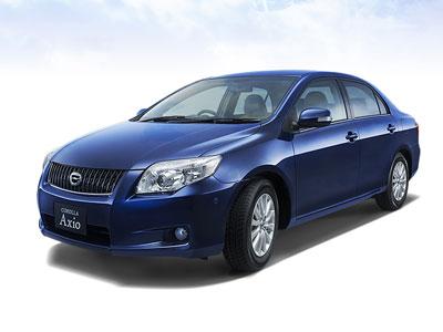 Каркасные шторки на Toyota Corolla Axio (E140) (2010 - 2012)