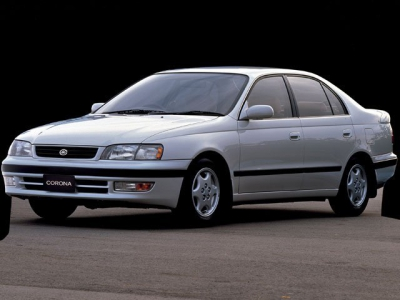 Каркасные шторки на Toyota Corona T190 (с 1992 по 1998)