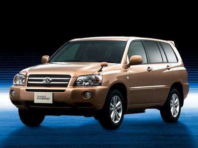 Каркасные шторки на Toyota Kluger V CU2 правый руль (с 2000 по 2007)