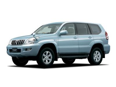 Каркасные шторки на Toyota Land Cruiser Prado 120 правый руль (2003 - 2009)