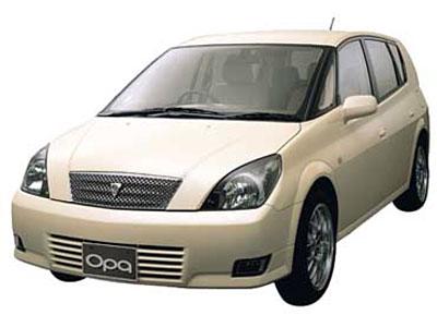 Каркасные шторки на Toyota Opa (5-дв., с 2000 по 2005)